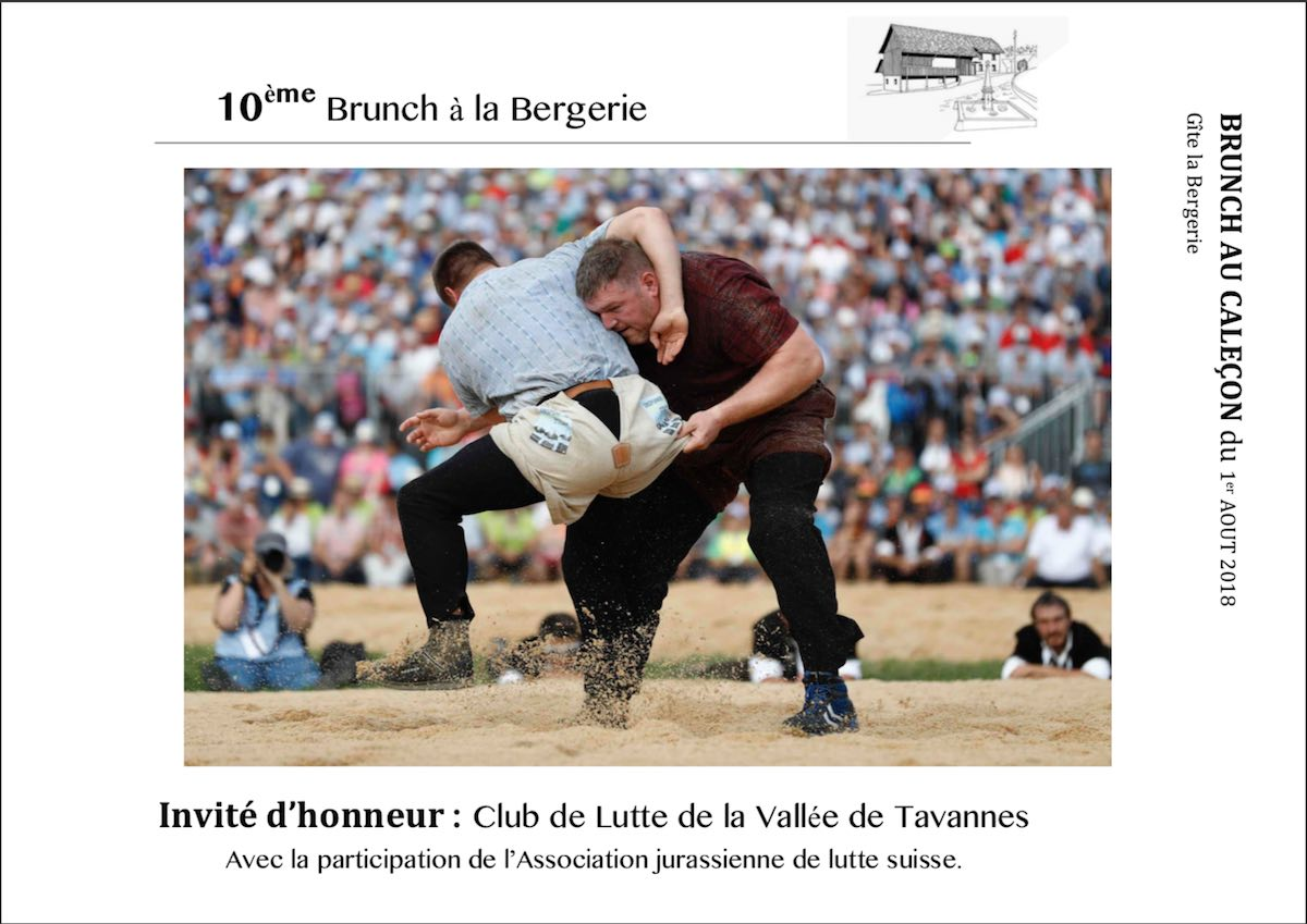 <h4> BRUNCH DU 1 er AOUT 2018/ SAINT-MARTIN 2018</h4>